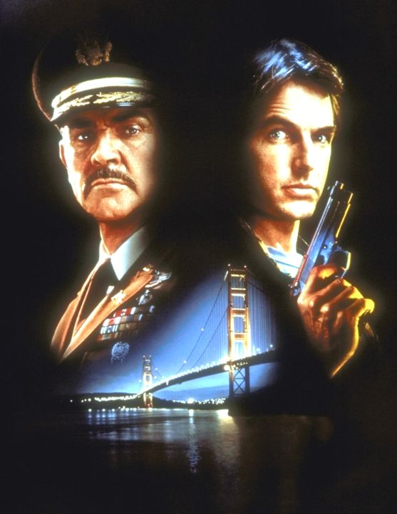 Bei der Klärung des Mordfalls wächst Austins (Mark Harmon, r.) Respekt vor Caldwell (Sean Connery, l.) ... - Bildquelle: Paramount Pictures