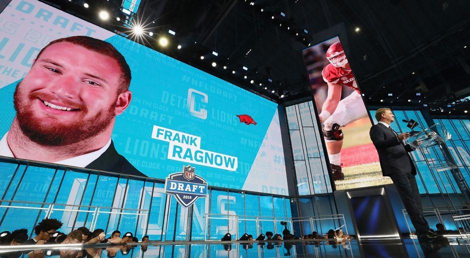 20. Pick - Detroit Lions: C Frank Ragnow - Bildquelle: getty