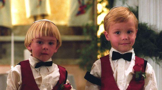 Haben eine ganz besondere Aufgabe: Sam und David Camden (Zachery und Lorenzo...