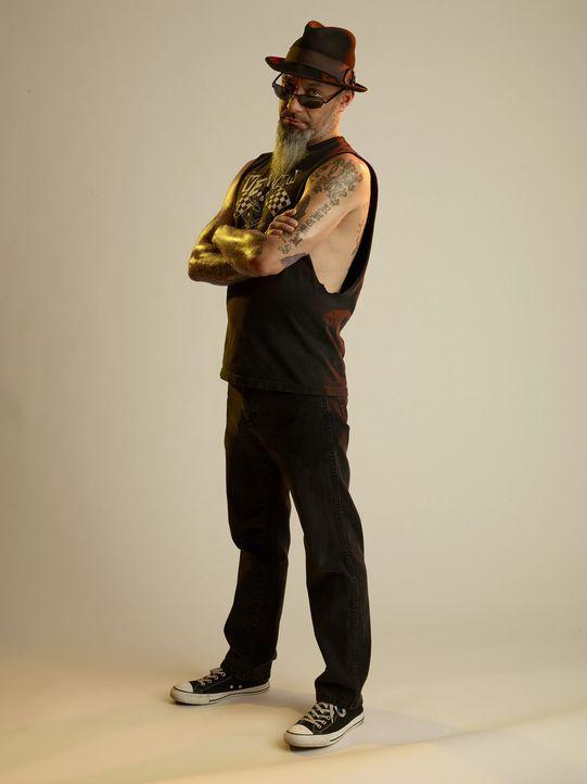 Ruckus (Bild) ist zusammen mit seinem Kumpel Dirk unterwegs, um die Bürger von Las Vegas von ihren katastrophalen Tattoos zu befreien ... - Bildquelle: 2013 A+E Networks, LLC