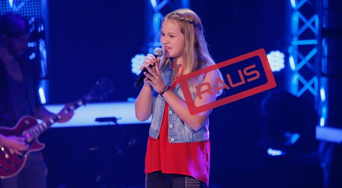 The-Voice-Kids-Stf04-RAUS-Emily-SAT1-Richard-Huebner - Bildquelle: © SAT.1/ Richard Hübner