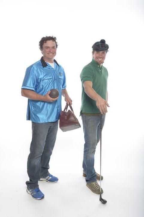 Starten jeden Monat ein neues Projekt mit dem sie ihr Ferienhaus in etwas Außergewöhnliches verwandeln wollen: Kevin (l.) und Andrew (r.) ...