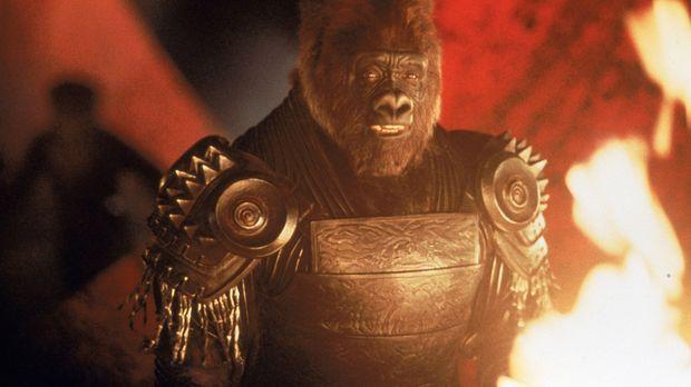 Der gefürchtetste Krieger in Thades Armee: Gorilla-Hauptmann Attar (Michael C...