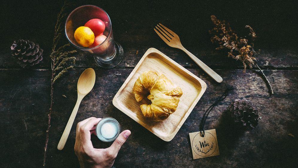 Apfel-Croissant-Auflauf