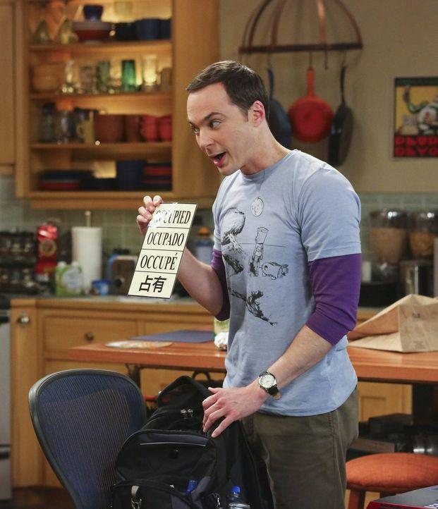 Leonard und Sheldon (Jim Parsons) sind unterwegs nach Berkeley, um an der dortigen Universität einen Vortrag über ihre neue Theorie zu halten. Da si... - Bildquelle: Warner Bros. Television