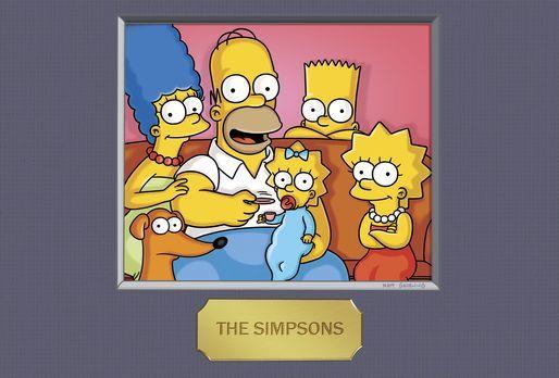 Die Simpsons - (23. Staffel) - Die Simpsons: Maggie (3.v.l.), Marge (l.), Hom...
