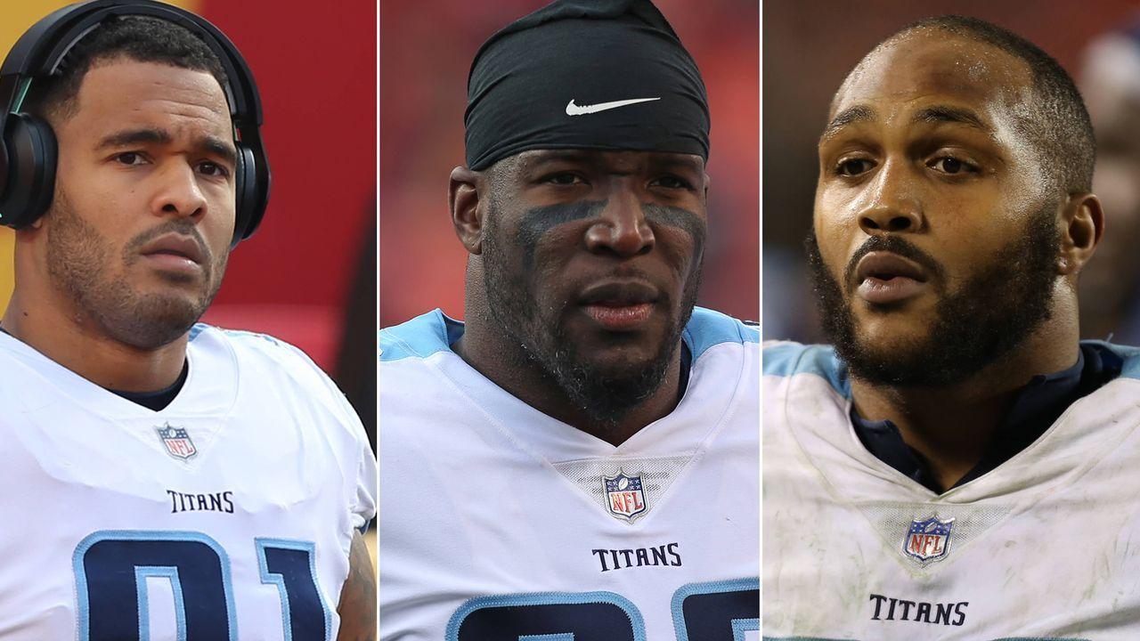 Morgan, Casey: 15 Spieler der Tennessee Titans - Bildquelle: getty/imago
