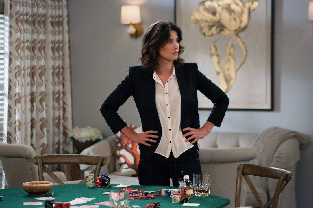 Gerät wegen Loretta in Streit mit Barney: Robin (Cobie Smulders) ... - Bildquelle: 2013 Twentieth Century Fox Film Corporation. All rights reserved.