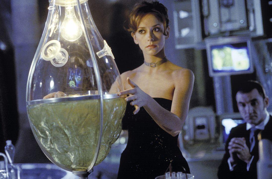 Eigentlich müssten sich Dr. Delilah Blaine (Jennifer Love Hewitt, l.) und Jimmy keine Sorgen im Kampf gegen den Bösewicht (Ritchie Coster, r.) mac... - Bildquelle: TM &   2002 DreamWorks LLC. All Rights Reserved