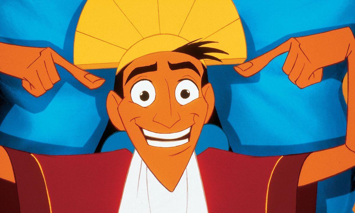 Der selbstverliebte König Kuzco führt eine ziemlich arrogante und wenig gerechte Regentschaft, wodurch er immer mehr den Unmut der Bürger auf sic... - Bildquelle: Disney Enterprises Inc.