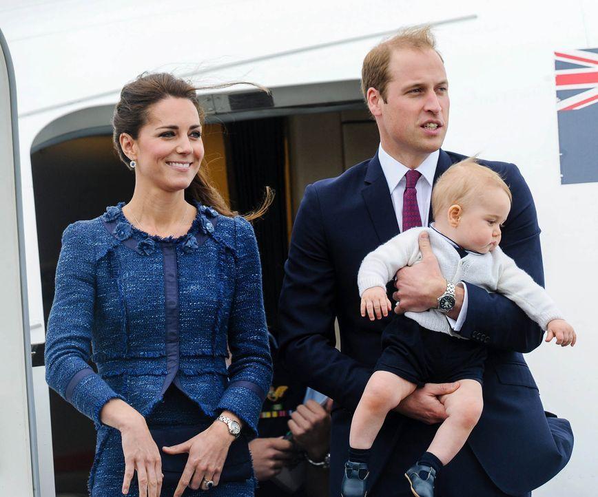 Prinz-William-Herzogin-Catherine-Prinz-George-14-04-16-dpa - Bildquelle: dpa