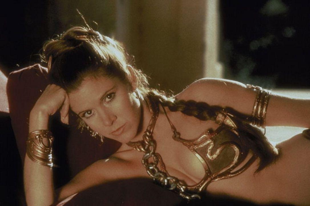 Verblüffende Verwandtschaftsverhältnissse: Luke wird offenbart, dass Prinzessin Leia (Carrie Fisher) seine Schwester ist ... - Bildquelle: Lucasfilm LTD. & TM. All Rights Reserved.