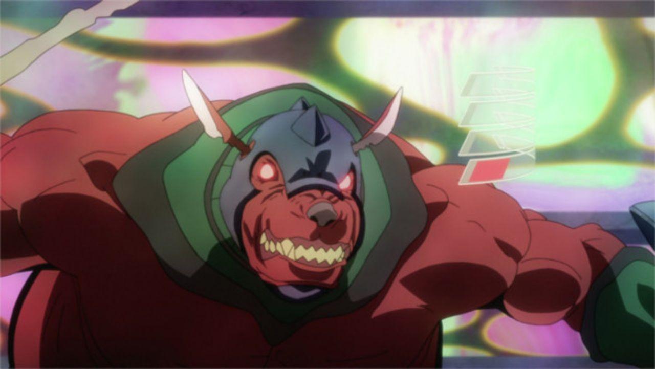 Um den Endgegner der 1. Ebene, Illfang der Koboldkönig (Bild), zu besiegen, schließt sich Kirito einer Gruppe Kämpfer an und trifft dort auf eine fa... - Bildquelle: REKI KAWAHARA/ASCII MEDIA WORKS/SAO Project