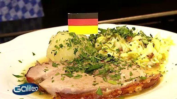 Bayerischer Schweinebraten