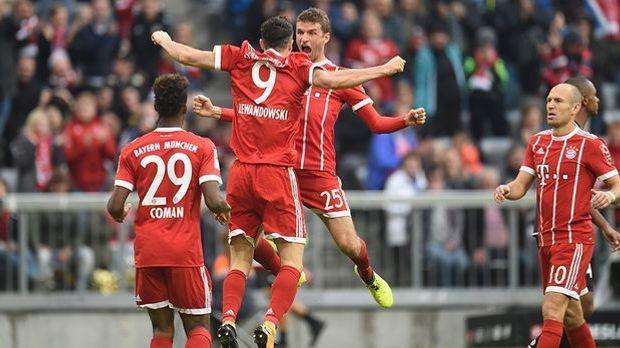 FC Bayern gewinnt 4:0 gegen Mainz