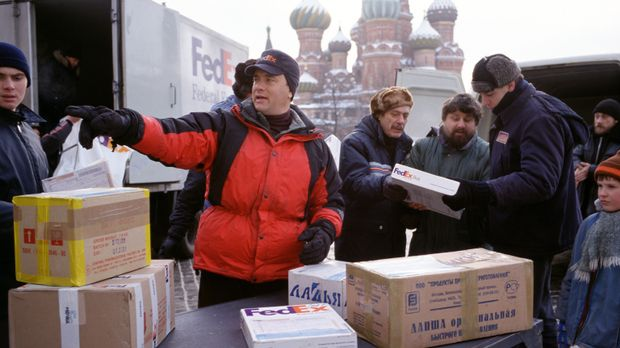 Film: Cast away - Verschollen © Francois Duhamel 2001 Twentieth Century Fox F...