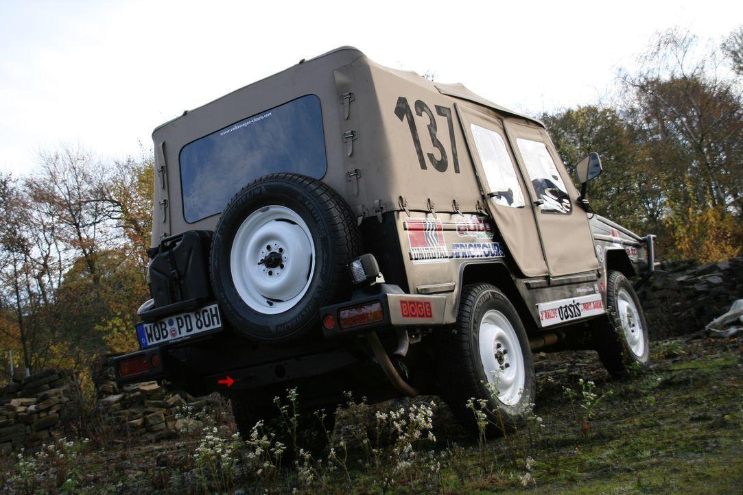 LeJog Rallye - Der VW Iltis