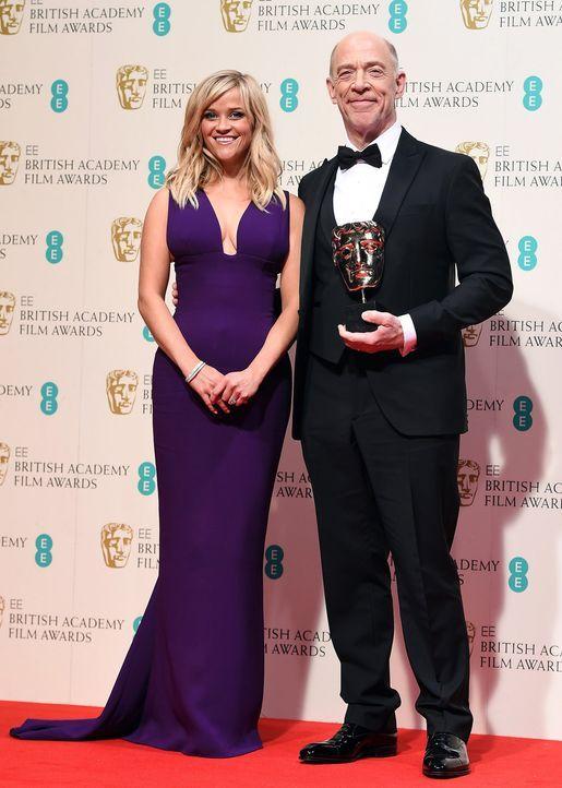 BAFTA-J-K-Simmons-Reese-Witherspoon-15-02-08-dpa - Bildquelle: dpa