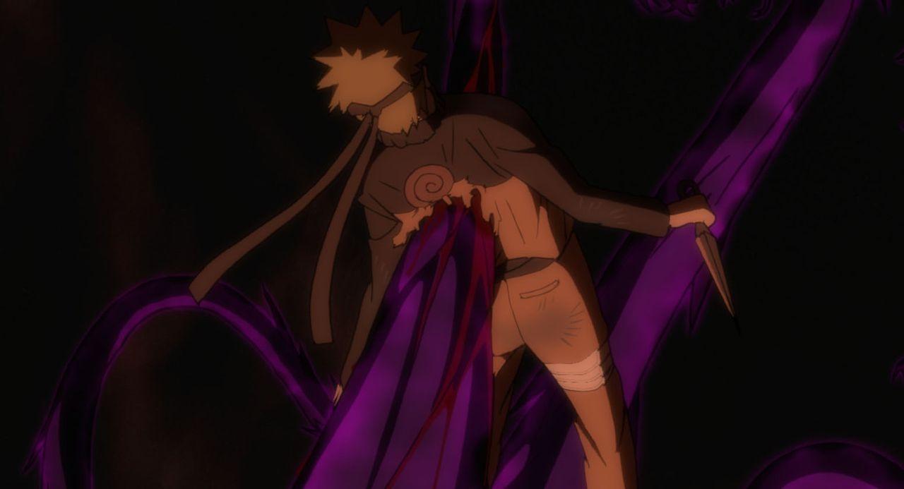 Naruto (Foto) erfährt von der Schamanin Shion, dass er bald sterben muss. Doch das kommt für ihn nicht in Frage und so blickt er seinem scheinbar un... - Bildquelle: 2002 MASASHI KISHIMOTO /2007 Shippuden   NMP 2007