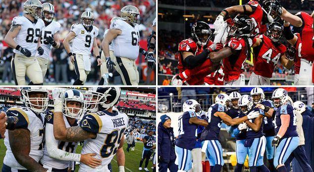 Das NFL Power Ranking vor der Wild Card Round - Bildquelle: Getty Images