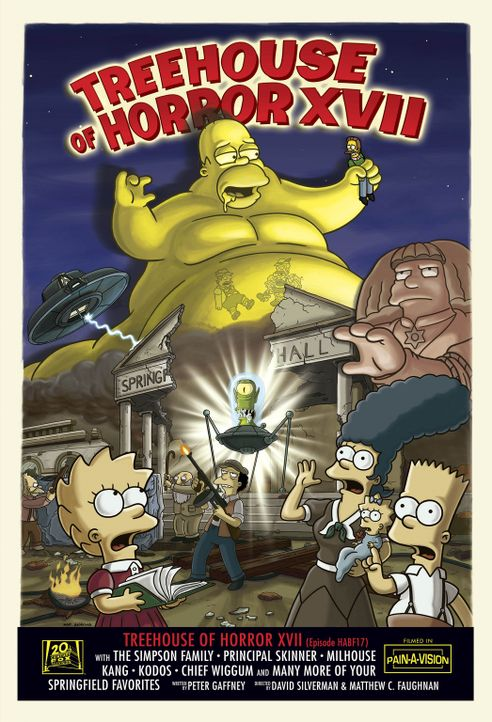 Treehouse of Horror XVII ... - Bildquelle: 2007FOX BROADCASTING