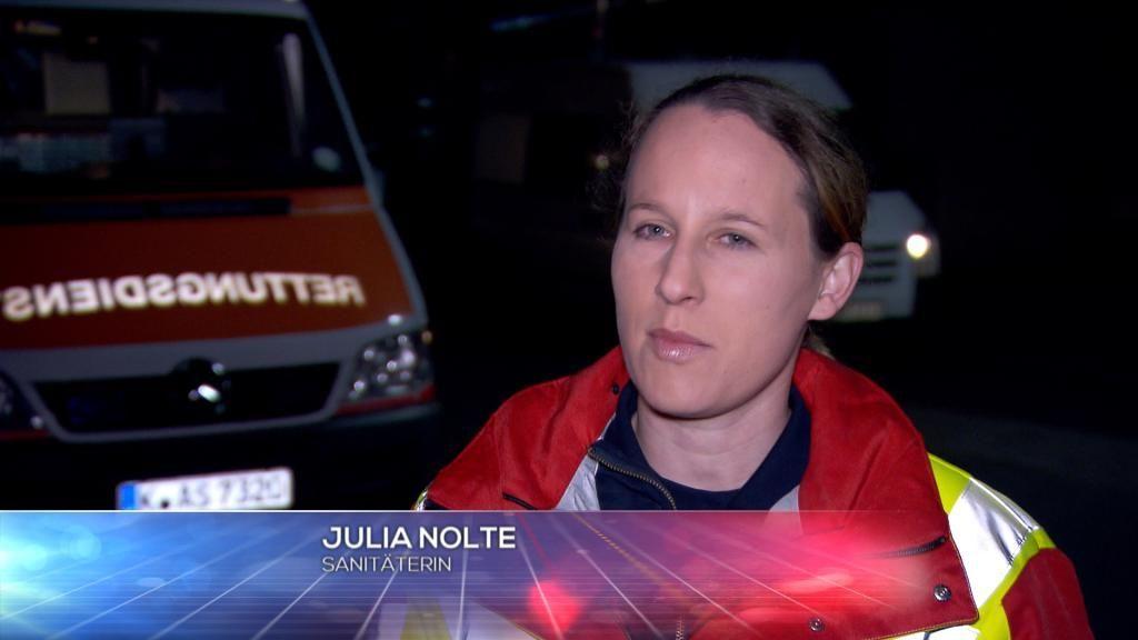 Sanit+ñterin - Julia Nolte - Bildquelle: SAT.1
