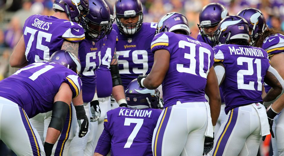 Minnesota Vikings - Bildquelle: 2017 Getty Images