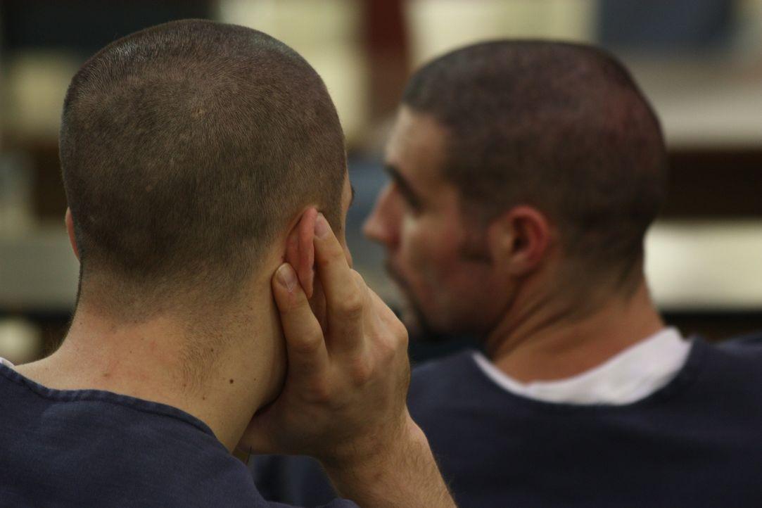 Die Insassen warten in Ohios Correctional Reception Center auf ihre Einweisung ... - Bildquelle: Andrew Baker 2010 NGC Network US, LLC All Rights Reserved