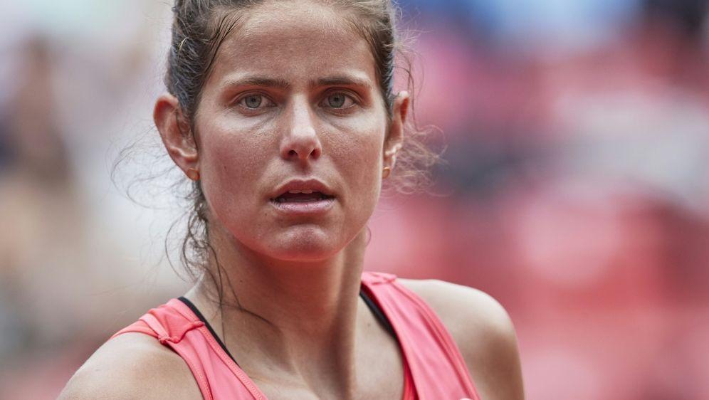 Finale verloren: Julia Görges - Bildquelle: PIXATHLONPIXATHLONSID