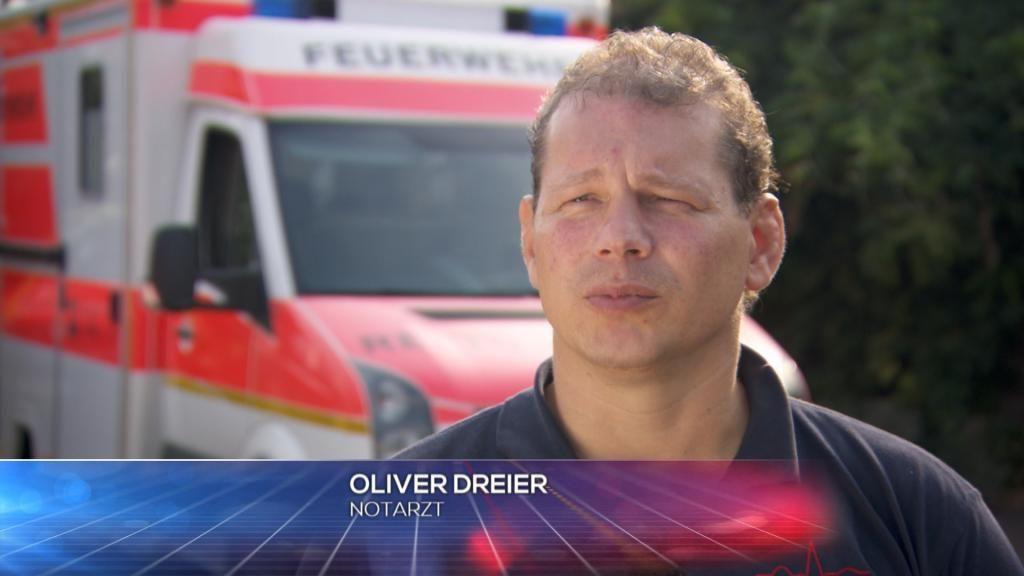 Notarzt - Oliver Dreier - Bildquelle: SAT.1