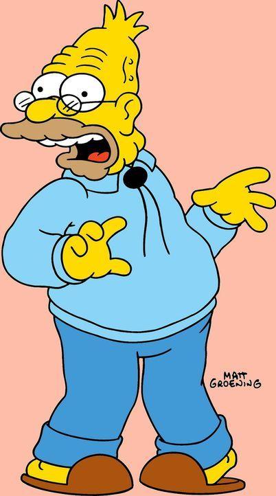 (14. Staffel) - Grandpa Simpson spielt eine große Rolle im chaotischen Familien-Clan. - Bildquelle: und TM Twentieth Century Fox Film Corporation - Alle Rechte vorbehalten