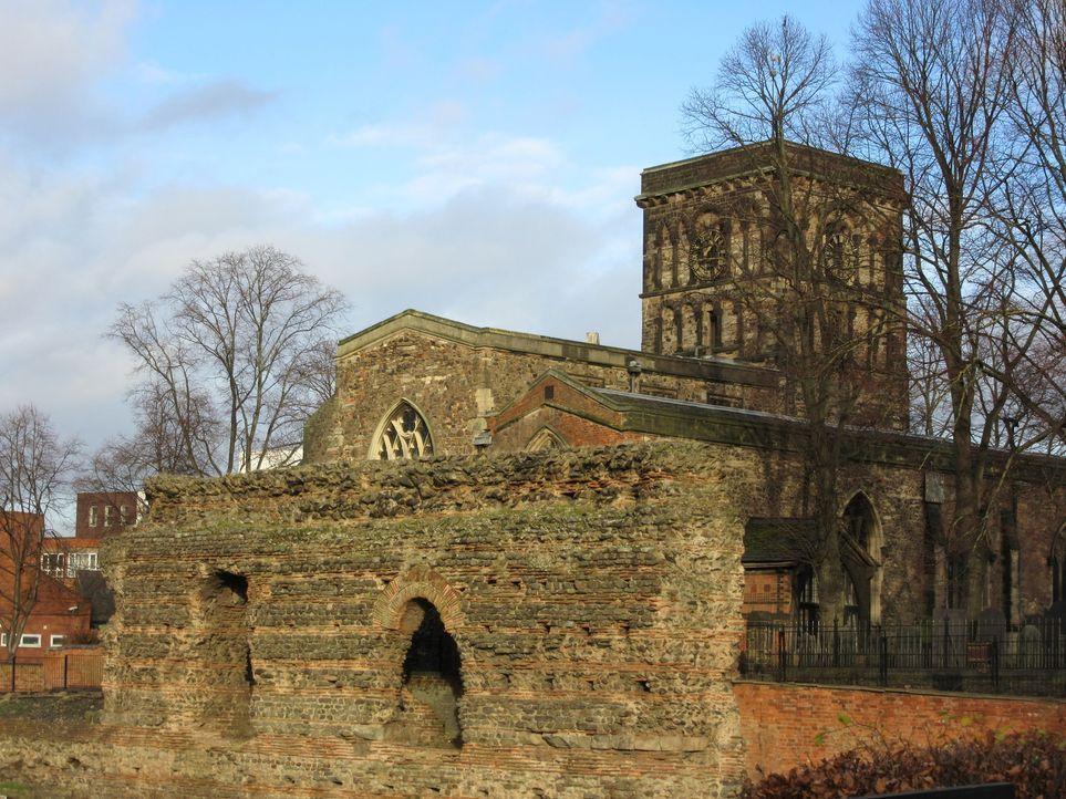 In der Kathedrale von Leicester hat der englische König Richard III eine neue Ruhestätte bekommen ... - Bildquelle: 2014, The Travel Channel, L.L.C. All Rights Reserved.