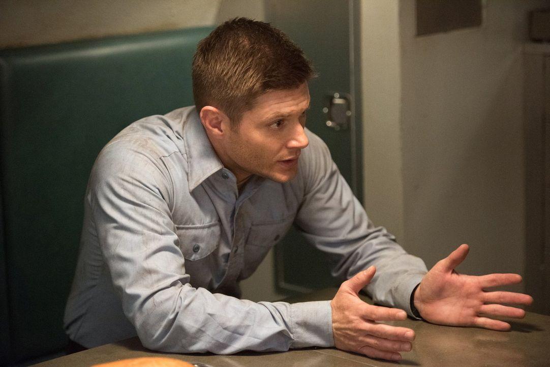 Dean (Jensen Ackles) begibt sich im Jahre 1944 auf die Suche nach einer Waffe gegen Amara. Doch hat sein Besuch in der Vergangenheit viel weitreiche... - Bildquelle: 2014 Warner Brothers