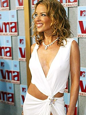 Kylie bei den MTV Video Music Awards im August 2002 - Bildquelle: AFP