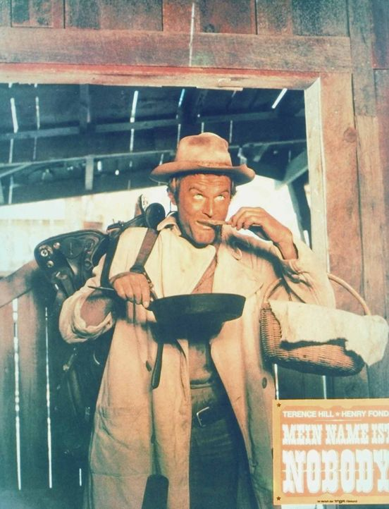 Auch ein Nobody (Terence Hill) hat mal Hunger! - Bildquelle: Universal Pictures
