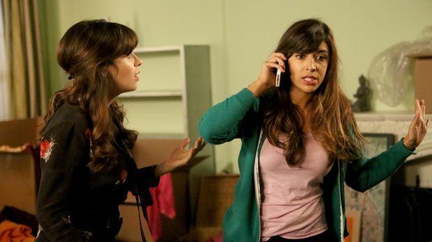 Beim Ausräumen ihrer Wohnung wird Cece (Hannah Simone, r.) plötzlich bewusst,...