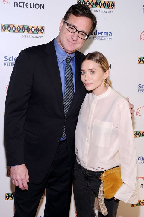 Bob_Saget_Ashley_Olsen_2014 - Bildquelle: Ilya S. Savenok/ AFP