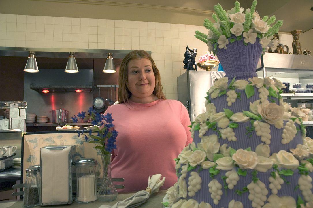 Julia (Alyson Hannigan) arbeitet im Restaurant ihrer Eltern, wenn es nach ihnen gehen würde, sollte sie Nicky, den Angestellten des Restaurants heir... - Bildquelle: Epsilon Motion Pictures