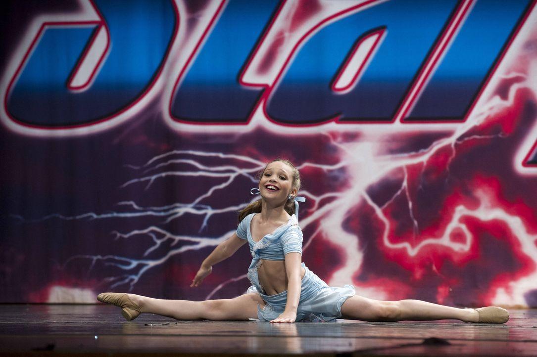 Auch Maddie kann dem Kampf gegen die Candy Apples nicht entgehen ... - Bildquelle: Barbara Nitke 2012 A+E Networks