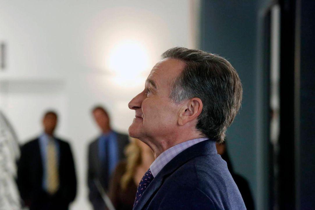 Will die Bücherei retten, in der er schon als Kind Bücher ausgeliehen hat: Simon (Robin Williams) ... - Bildquelle: 2014 Twentieth Century Fox Film Corporation. All rights reserved.