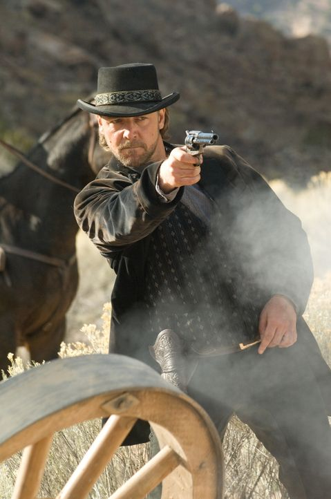 Durch einen Zufall gelingt es dem Farmer Dan Evan, den Räuber und Mörder Ben Wade (Russell Crowe) gefangen zu nehmen. Daraufhin lässt er sich auf ei... - Bildquelle: 2007 Yuma, Inc. All Rights Reserved.