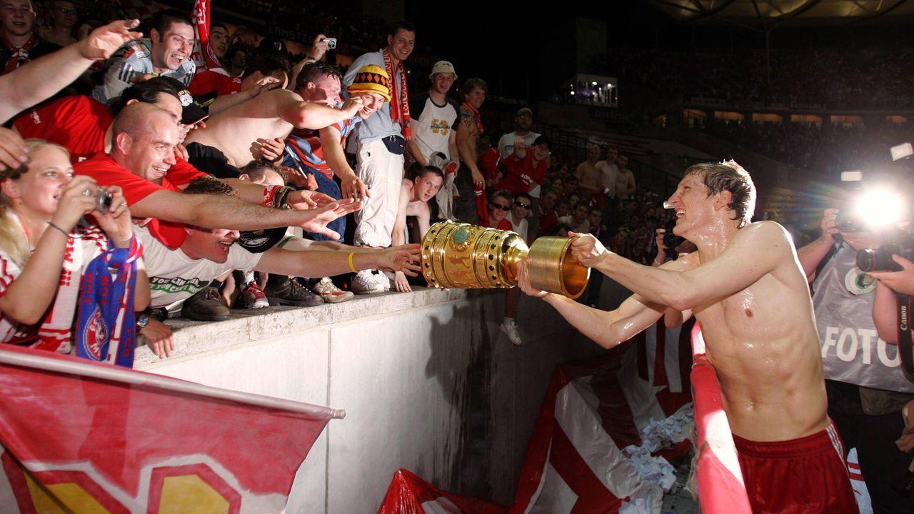 Die meisten Pokalsiege als Spieler: Bastian Schweinsteiger, sieben - Bildquelle: Imago