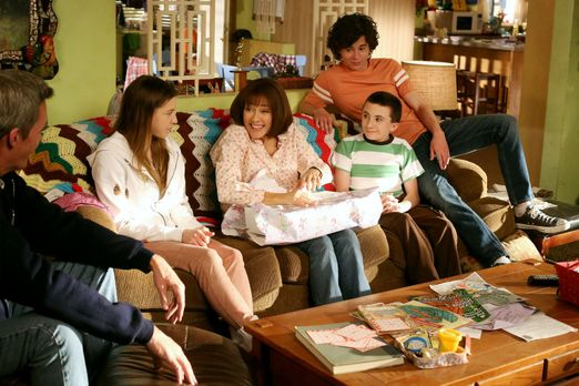 The Middle - Muttertag: Wird es Frankies (Patricia Heaton, M.) Familie (v.l.n...