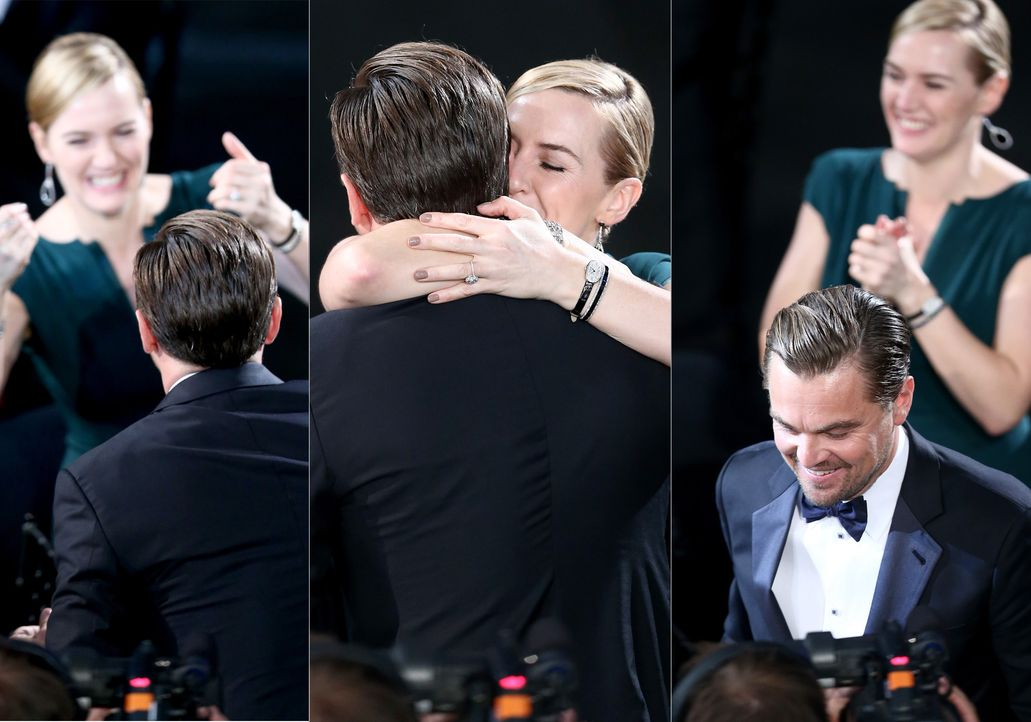 160130-winslet-dicaprio-getty-AFp - Bildquelle: Christopher Polk/Getty Images for Turner/AFP