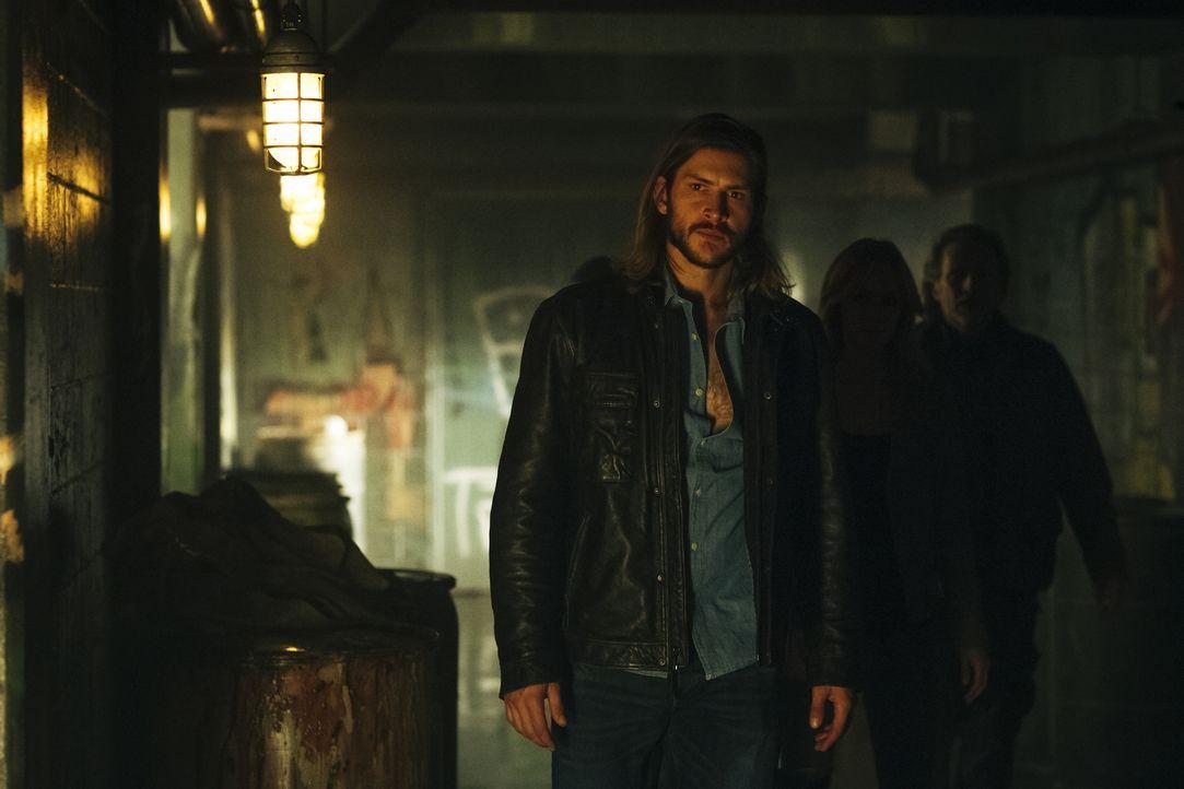 Noch ahnt Clay (Greyston Holt) nicht, zu welchen drastischen Mitteln Elena greifen wird, um die Kontrolle zurückzuerlangen ... - Bildquelle: 2016 She-Wolf Season 3 Productions Inc.