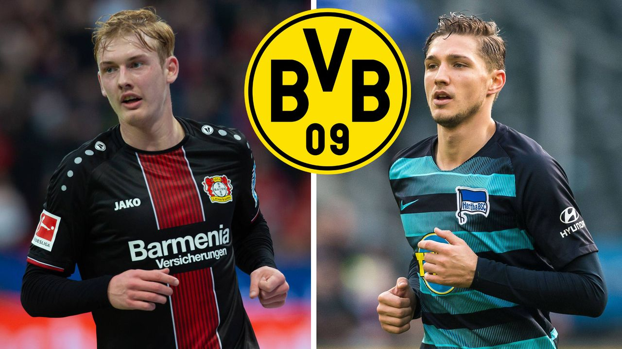 Julian Brandt und Niklas Stark im BVB Fokus  - Bildquelle: Imago