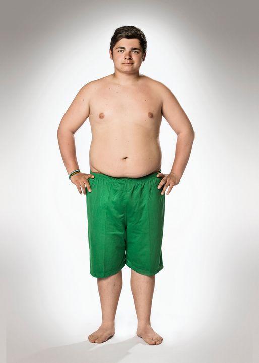 """Möchte bei """"The Biggest Loser - Teens"""" durchstarten in ein neues leichteres Leben: Stephano - Bildquelle: Morris MacMatzen SAT.1"""