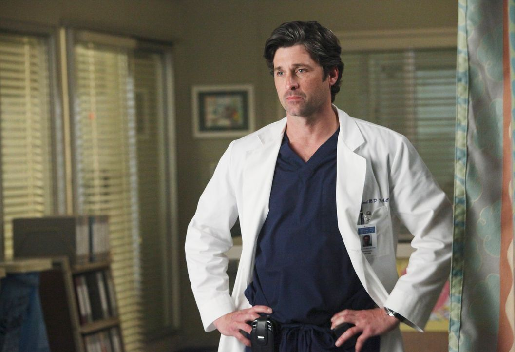 Der private und berufliche Stress bringt Meredith sichtbar an ihre Grenzen. Derek (Patrick Dempsey) macht sich Sorgen um sie ... - Bildquelle: ABC Studios
