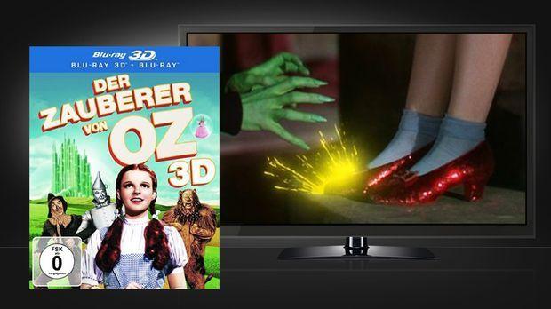 Der Zauberer von Oz - 3D © Warner Home Video