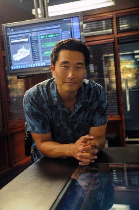 Setzt bei den Ermittlungen, immer wieder sein eigenes Leben aufs Spiel: Chin (Daniel Dae Kim) ... - Bildquelle: 2013 CBS BROADCASTING INC. All Rights Reserved.